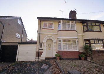 Thumbnail 4 bed semi-detached house for sale in Kirket Lane, Bebington, Wirral
