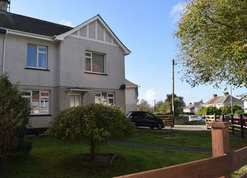 Thumbnail 3 bed semi-detached house for sale in Manor Road, Camborne