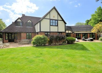 Thumbnail 4 bedroom detached house for sale in Burghfield Bridge Close, Burghfield, Reading