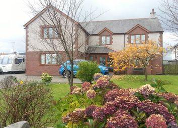 Thumbnail 5 bed detached house for sale in Ffordd Llanberis, Llanrug, Caernarfon
