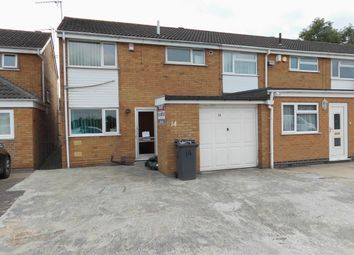 Thumbnail 3 bed semi-detached house to rent in Alderton Close, Leicester