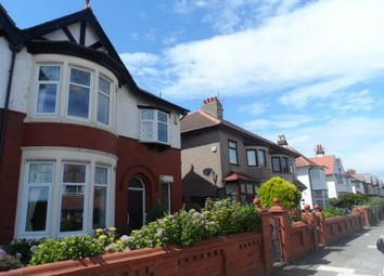 Thumbnail 3 bedroom semi-detached house for sale in Argyll Road, Blackpool