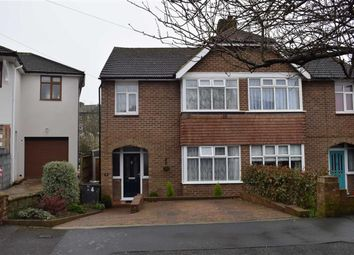 Thumbnail 3 bed semi-detached house for sale in Mildenhall Drive, St Leonards-On-Sea, East Sussex