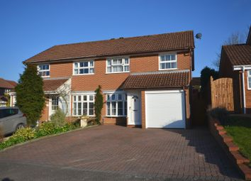 Thumbnail 3 bed semi-detached house for sale in Teal Crescent, Basingstoke