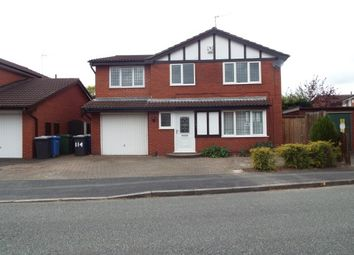 Thumbnail 4 bed detached house to rent in Shackleton Close, Old Hall