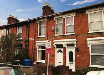 Thumbnail 3 bed terraced house to rent in Norfolk Road, Ipswich