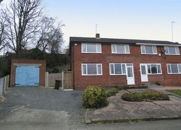Thumbnail 4 bed semi-detached house for sale in Brierley Hill, Quarry Bank, Woodland Avenue