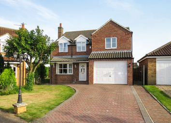 Thumbnail 4 bed detached house for sale in Chapel Lane, Navenby, Lincoln