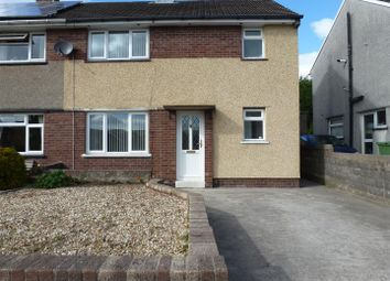 Thumbnail 3 bed semi-detached house to rent in Heol Nant, Church Village, Pontypridd