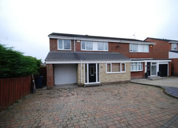 Thumbnail 4 bed semi-detached house for sale in Plenmeller Place, Sunniside, Newcastle Upon Tyne
