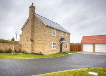 Thumbnail 4 bed detached house for sale in Hereward Houses, Soham, Ely