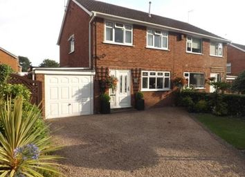 Thumbnail 3 bed semi-detached house for sale in Marlborough Avenue, Bromsgrove, Worcestershire