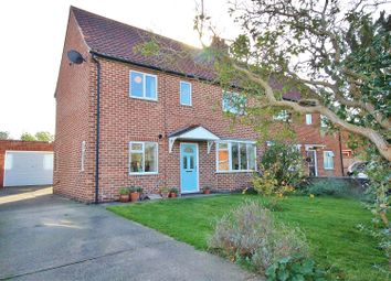 Thumbnail 3 bed semi-detached house for sale in Church Lane, Wheldrake, York