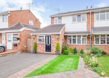 Thumbnail Semi-detached house for sale in Woodward Close, Whitnash, Leamington Spa