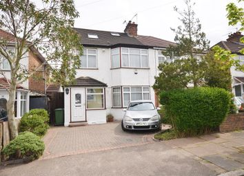 Thumbnail 4 bed semi-detached house for sale in Manor Road, Harrow, Middlesex