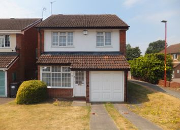 Thumbnail 3 bed detached house for sale in Deerham Close, New Oscott, Birmingham