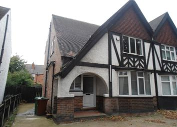 Thumbnail 4 bed semi-detached house to rent in Derby Road, Lenton, Nottingham