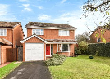 Thumbnail 4 bed detached house for sale in Lindsey Close, Wokingham, Berkshire