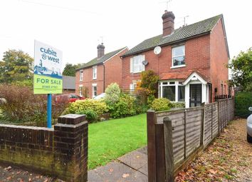 Thumbnail 3 bed semi-detached house for sale in Ewhurst Road, Cranleigh, Surrey