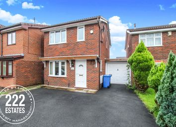 Thumbnail 3 bed detached house for sale in Vincent Close, Old Hall, Warrington