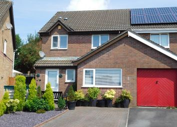 Thumbnail 3 bed semi-detached house for sale in Priory Court, Bryncoch, Neath, Neath Port Talbot.