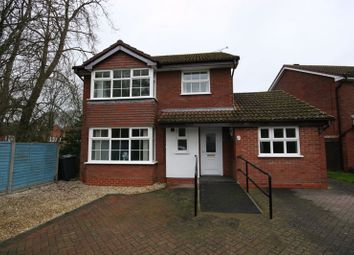 Thumbnail 4 bed detached house for sale in Tower Close, Barnwood, Gloucester