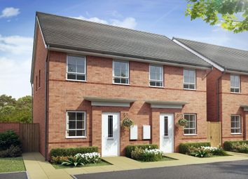 "Thumbnail 2 bedroom semi-detached house for sale in ""Richmond"" at Waterloo Road, Hanley, Stoke-On-Trent"