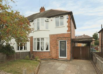 Thumbnail 3 bed semi-detached house for sale in Foxhill Road, Carlton, Nottingham