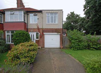 Thumbnail 3 bed semi-detached house for sale in The Oval, Benton, Newcastle Upon Tyne