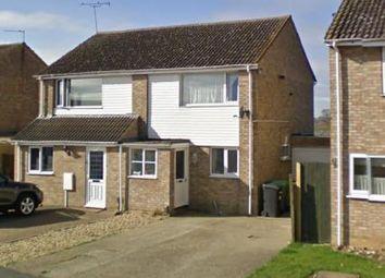 Thumbnail 3 bed semi-detached house to rent in Compton Way, Earls Barton, Northampton, Northamptonshire