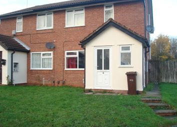 Thumbnail 2 bedroom flat to rent in Banstead Close, Parkfields, Wolverhampton, West Midlands