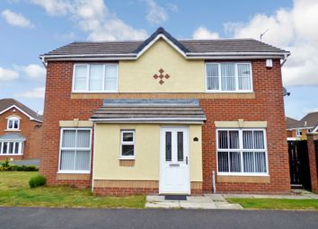 Thumbnail 3 bedroom detached house for sale in New Moor Close, Ashington