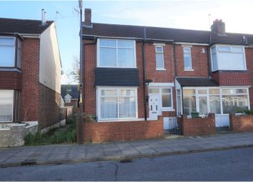 Thumbnail 3 bedroom end terrace house for sale in Stride Avenue, Portsmouth