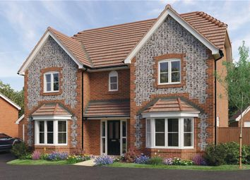 "Thumbnail 4 bed detached house for sale in ""Thames"" at Worthing Road, Southwater, Horsham"
