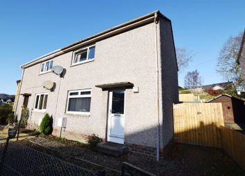 Thumbnail 2 bed semi-detached house for sale in Darach Road, Pitlochry