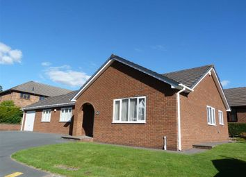 Thumbnail 3 bed detached bungalow for sale in Maes Cottage Estate, St Harmon Road, Rhayader, Powys