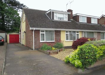 Thumbnail 4 bed semi-detached house for sale in Castle Close, Sapcote, Leicester
