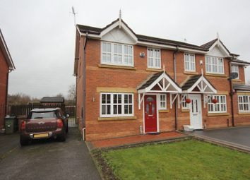 Thumbnail 3 bed semi-detached house for sale in Dorchester Park, Prenton, Wirral