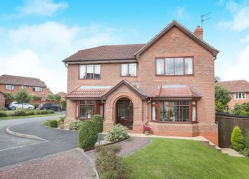 Thumbnail 4 bedroom detached house for sale in Spring Meadow Close, Codsall, Wolverhampton