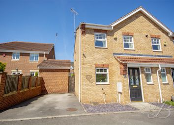 Thumbnail 3 bed semi-detached house for sale in Sapphire Street, Mansfield
