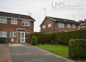 Thumbnail 1 bed semi-detached house to rent in Commonwealth Close, Winsford