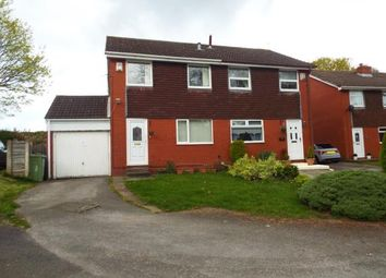 Thumbnail 3 bed semi-detached house for sale in Helston Close, Brookvale, Runcorn, Cheshire