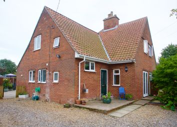 Thumbnail 3 bed semi-detached house for sale in Chapel Road, Morley St. Botolph, Wymondham
