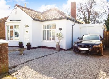 Thumbnail 3 bed detached bungalow for sale in Rookswood Road, March