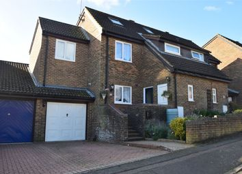 Thumbnail 5 bedroom semi-detached house for sale in Lapwing Rise, Poplars, Stevenage, Hertfordshire