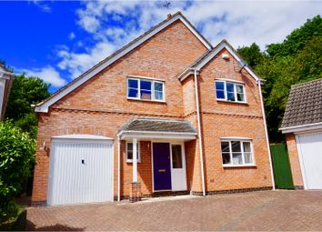 Thumbnail 4 bed detached house for sale in White Hart Close, Billesdon
