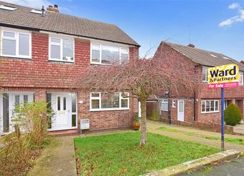 Thumbnail 3 bed semi-detached house for sale in Ediva Road, Meopham, Kent