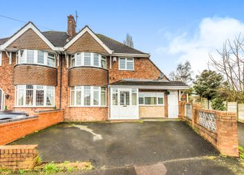 Thumbnail 3 bedroom semi-detached house for sale in Denise Drive, Coseley, Bilston