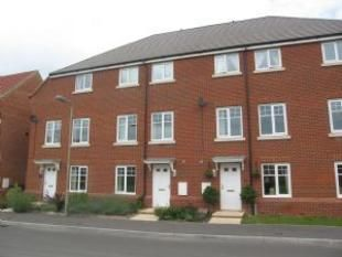 Thumbnail 4 bed town house to rent in Harris Way, North Baddesley, Southampton
