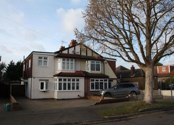 Thumbnail Semi-detached house for sale in Clandon Close, Stoneleigh, Epsom